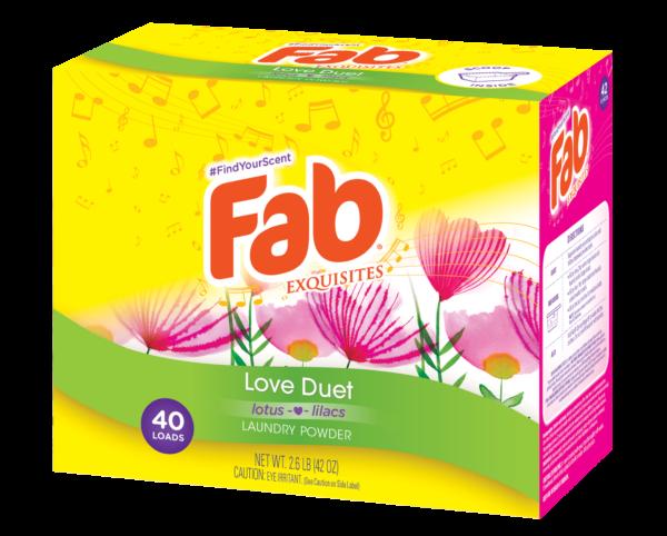 Fab Powdered Detergent